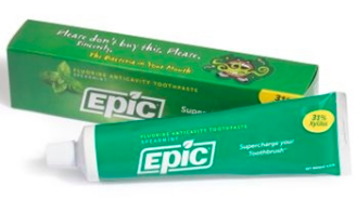 Image of Xylitol Toothpaste with Fluoride Spearmint