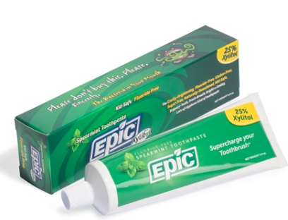 Image of Xylitol Toothpaste Fluoride Free Spearmint