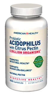 Image of Acidophilus Capsules with Pectin