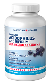 Image of Chewable Acidophilus and Bifidum (Contains Milk) 1 Billion Blueberry
