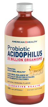Image of Probiotic Acidophilus 20 Billion Liquid Banana