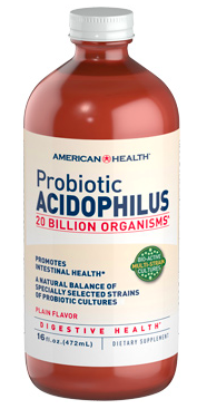 Image of Probiotic Acidophilus 20 Billion Liquid Plain