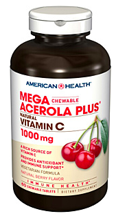 Image of Mega Acerola Plus 1000 mg Chewable Berry