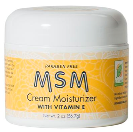 Image of MSM Cream Moisturizer with Vitamin E