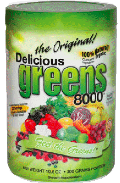 Image of Delicious Greens 8000 Powder The Original