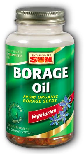 Image of Borage Oil 1000 mg Vegetarian