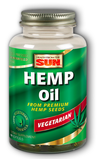 Image of Hemp Oil 1000 mg Vegetarian