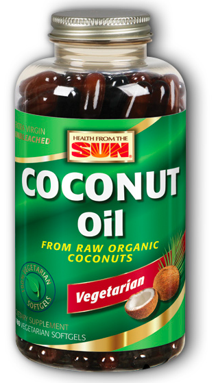 Image of Coconut Oil 1,000 mg Softgel
