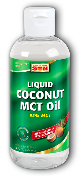 Image of Coconut MCT Oil Liquid