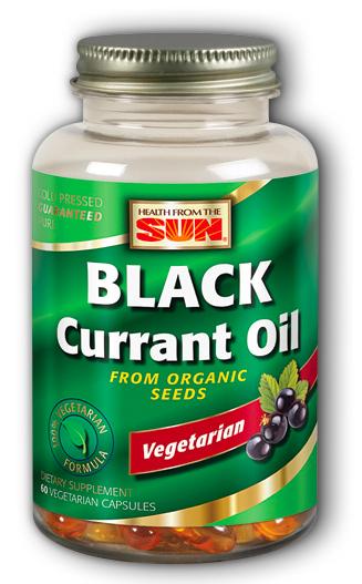 Image of Black Currant Oil 1000 mg Vegetarian