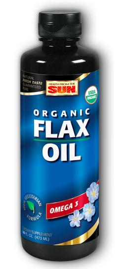 Image of Flax Oil Liquid Organic