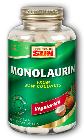 Image of Monolaurin 495 mg Vegetarian