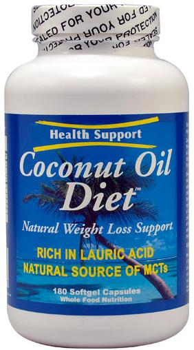 Image of Coconut Oil Diet Softgel