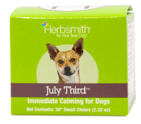 Image of July Third Calming Chews for Intermediate Dogs