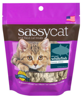 Image of SassyCat Treats for Cats Whitefish