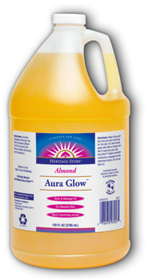 Image of Aura Glow Oil Almond