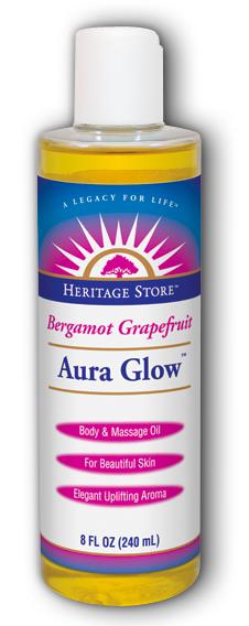 Image of Aura Glow Oil Bergamot Grapefruit