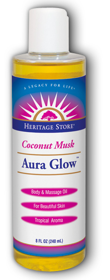 Image of Aura Glow Oil Coconut Musk