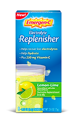 Image of Emergen-C Replenisher Powder Lemon Lime