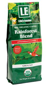 Image of Rainforest Blend Ground Coffee Natural Mocha Flavor