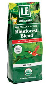 Image of Rainforest Blend Ground Coffee Natural Vanilla Flavor