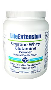 Image of Creatine Whey Glutamine Powder (Vanilla)
