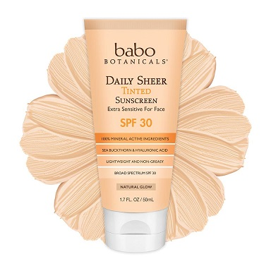 Image of Daily Sheer Tinted Sunscreen, SPF 30