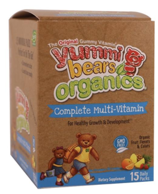 Image of Yummi Bears Organics Complete Multi-Vitamin Guumies