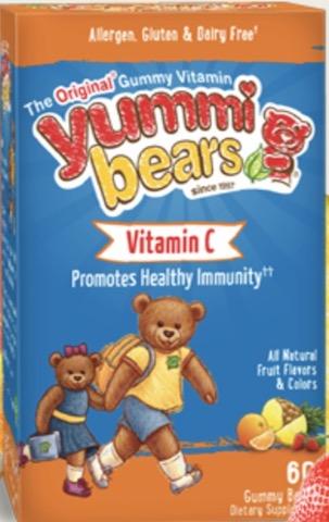 Image of Yummi Bears Vitamin C Gummy