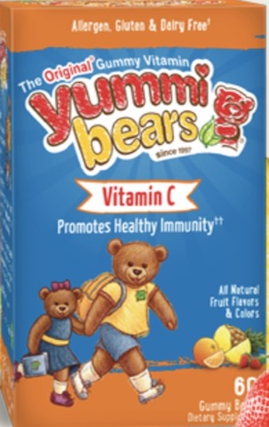Image of Yummi Bears Vitamin C Gummy