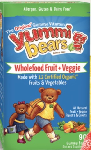 Image of Yummi Bears Whole Food + Fruit & Veggies Antioxidant