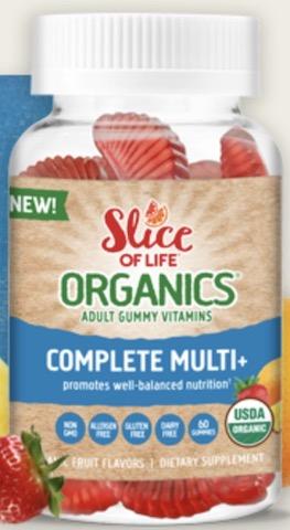 Image of Slice of Life Organics Vegetarian  Complete Multi+