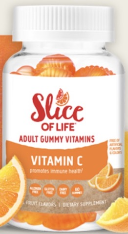 Image of Slice Of Life Vitamin C 125 mg Gummy
