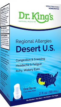 Image of Regional Allergies: Desert U.S.