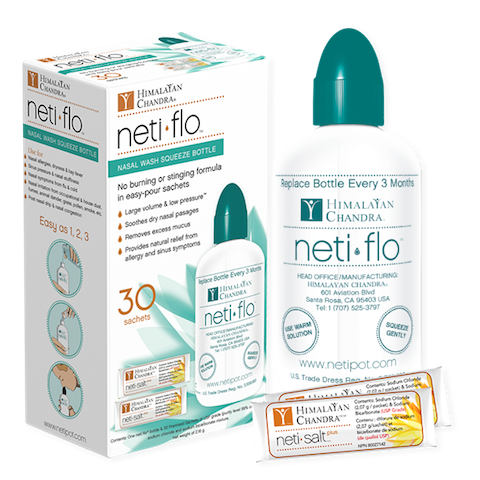 Image of Neti Flo with 30 Salt Packets