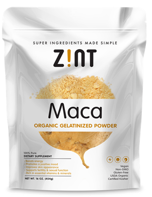 Image of Organic Gelatinized Maca Powder Bag