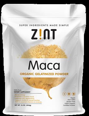 Image of Organic Gelatinized Maca Powder, Bag