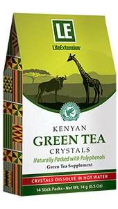 Image of Kenyan Green Tea Crystals Stic Packs