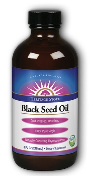 Image of Black Seed Oil Liquid Organic