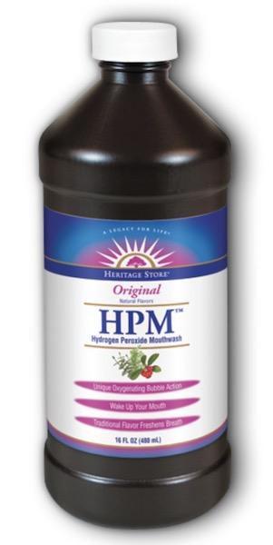 Image of Mouthwash HPM Hydrogen Peroxide Mouthwash Menthol