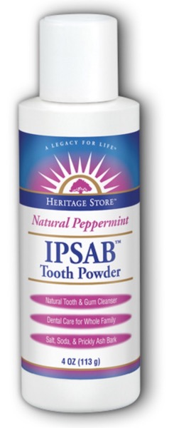 Image of IPSAB Tooth Powder Natural Peppermint