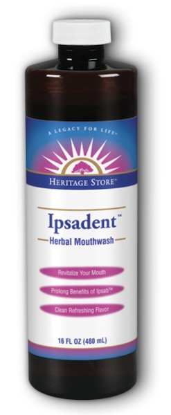 Image of Mouthwash Ipsadent Herbal