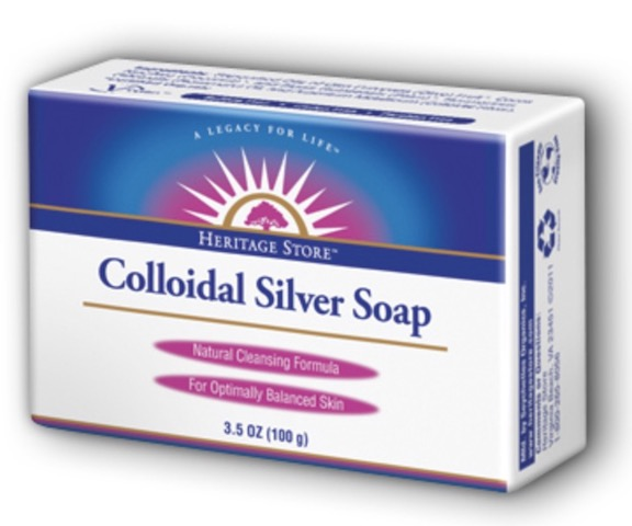Image of Bar Soap Colloidal Silver (Rosemary)