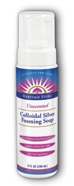 Image of Foaming Soap Colloidal Silver Unscented