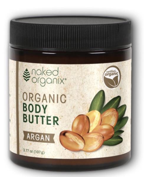 Image of Naked Organix Body Butter Organic Argan