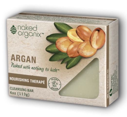 Image of Naked Organix Cleansing Bar Argan