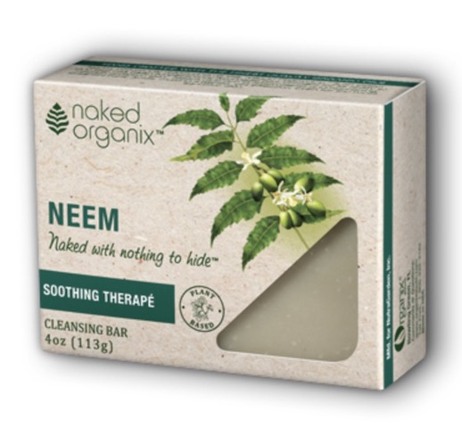 Image of Naked Organix Cleansing Bar Neem