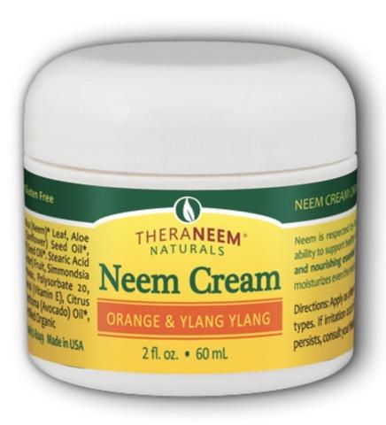 Image of TheraNeem Neem Cream (Orange & Ylang Ylang)