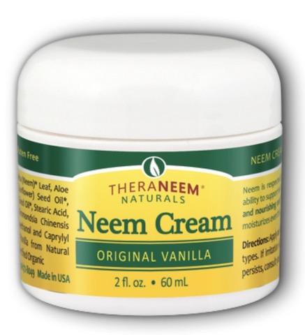 Image of TheraNeem Neem Cream (Original Vanilla)