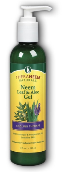 Image of TheraNeem Neem Leaf & Aloe Gel Cooling Therape Lavender & Mint